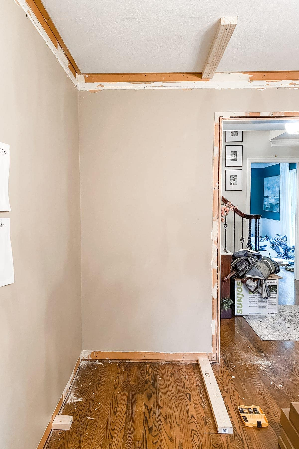 How to Build a Closet | A step-by-step tutorial to DIY build a closet from scratch + home office makeover progress