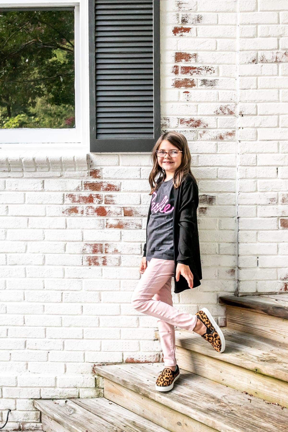 Little Girls' Back to School Clothes from Walmart