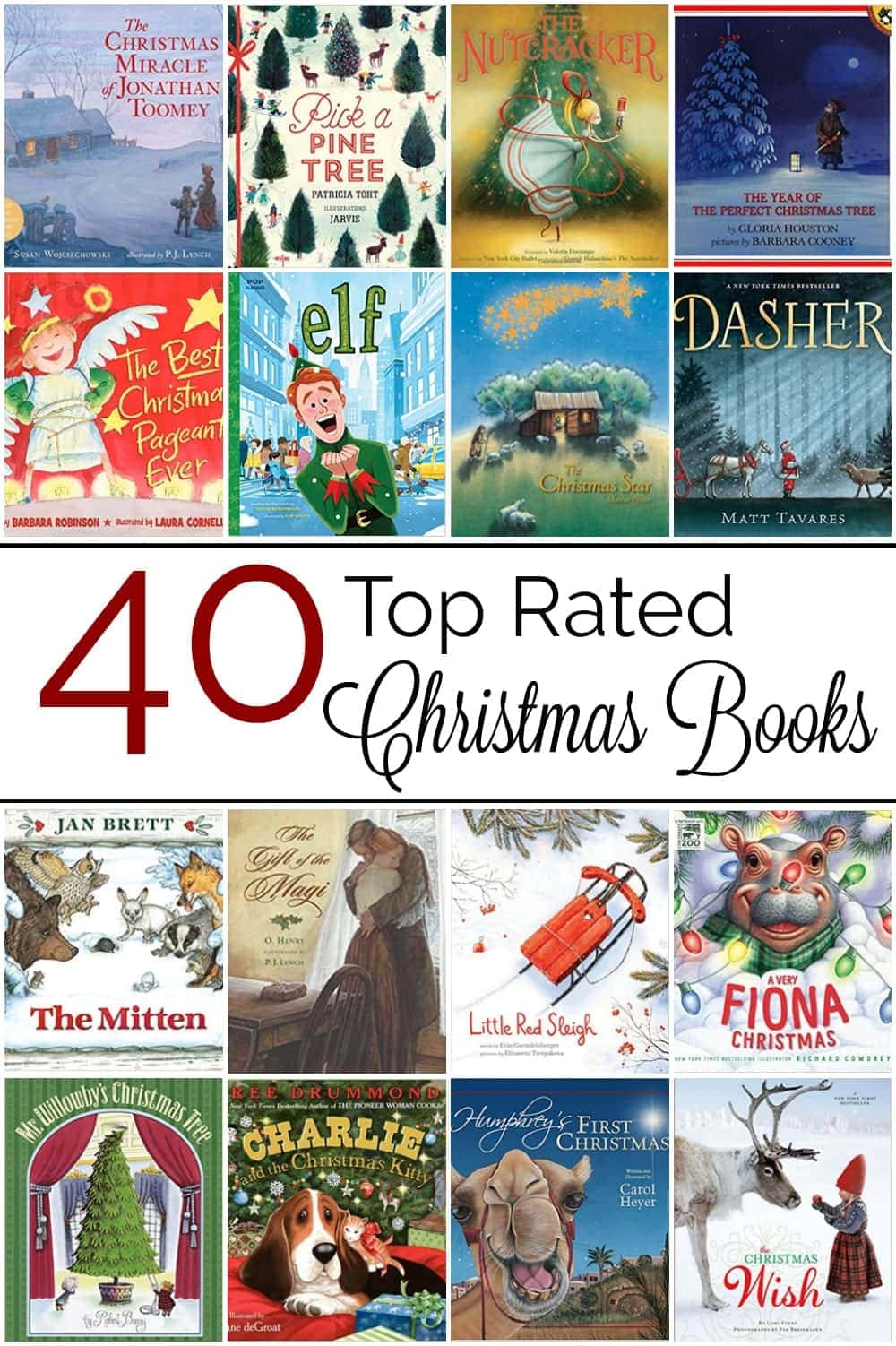 Top Rated Christmas Books for Kids