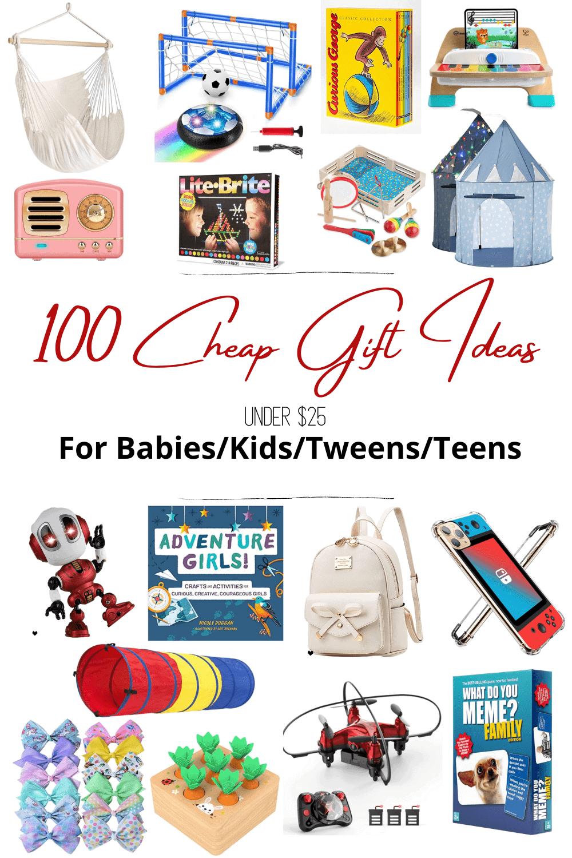 100 Best Cheap Gift Ideas For Babies Kids Tweens And Teens Bless Er House