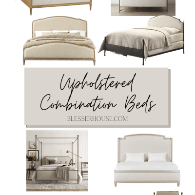 Upholstered Combination Beds
