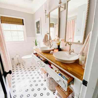 Kids' Bathroom Organization Tour