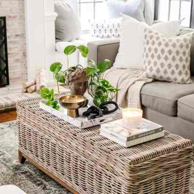 Coffee Table Decor Essentials and How to Style Them
