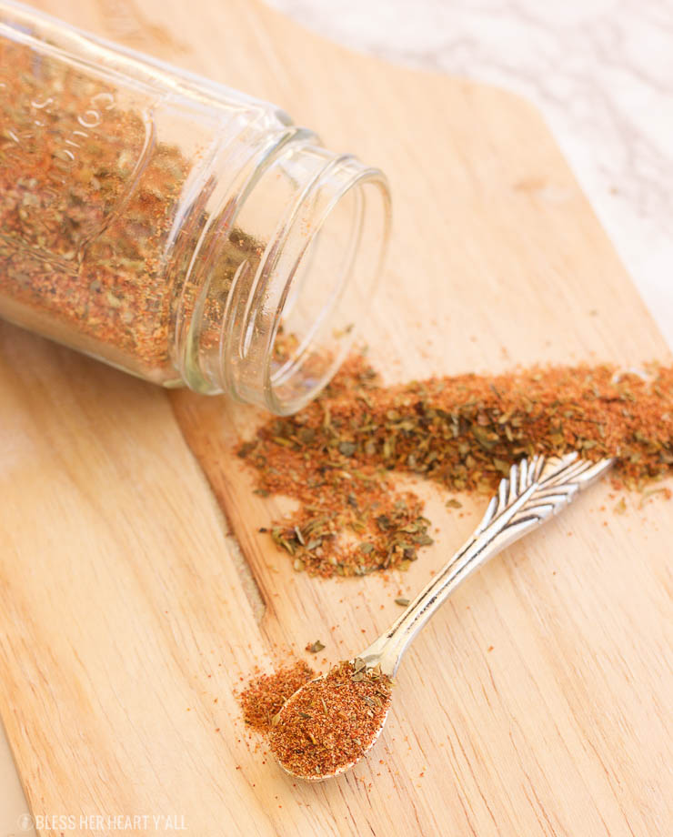 An easy and simple gluten-free blackening spice recipe that is made in just seconds!
