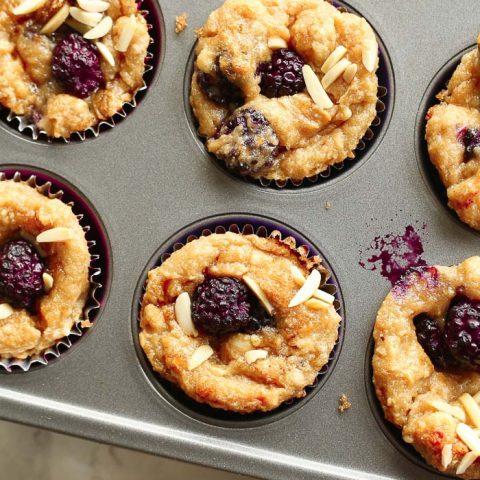Blackberry Muffins: Gluten-Free!