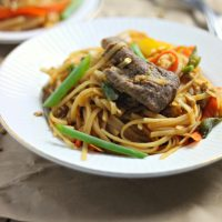Spicy Beef Pad Thai
