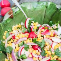 Spicy Chipotle Lime Radish Salad
