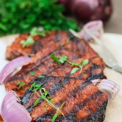 Southern Glazed Pork Chops (Video)