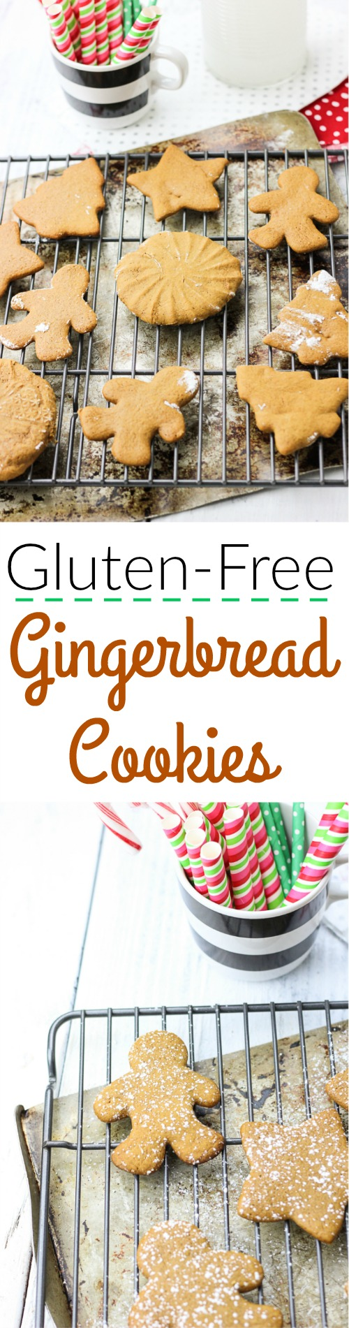 These are the best gluten-free gingerbread cookies you will find! These gluten-free gingerbread cookies are soft, moist, and shapeable, can be easily prepped ahead of time, and are sweet and delicious, just like gingerbread cookies should be!