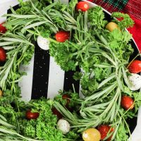 Holiday Olive Wreath
