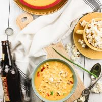 Gluten-Free Slow Cooker Beer Cheese Soup
