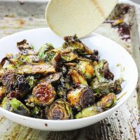 Bacon Walnut Brussel Sprouts