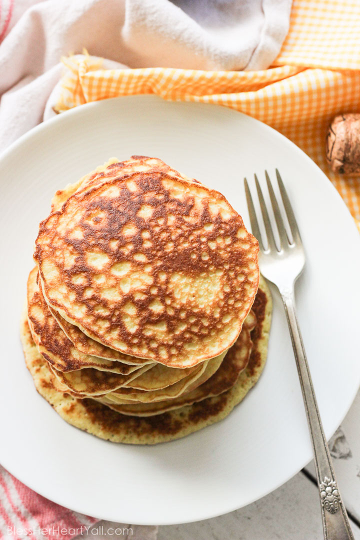 gluten-free pancakes strawberry champagne sauce (2 of 7)