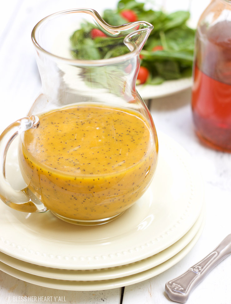 Pumpkin Poppyseed Dressing