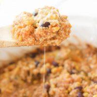 Slow Cooker Mexican Quinoa Dip