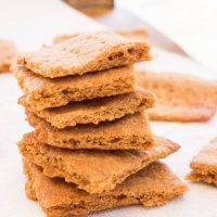 Paleo Gluten-Free Graham Crackers