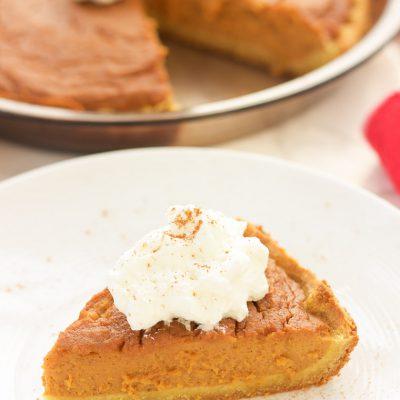 Paleo Sweet Potato Pie (Gluten Free, Grain Free, Dairy Free)