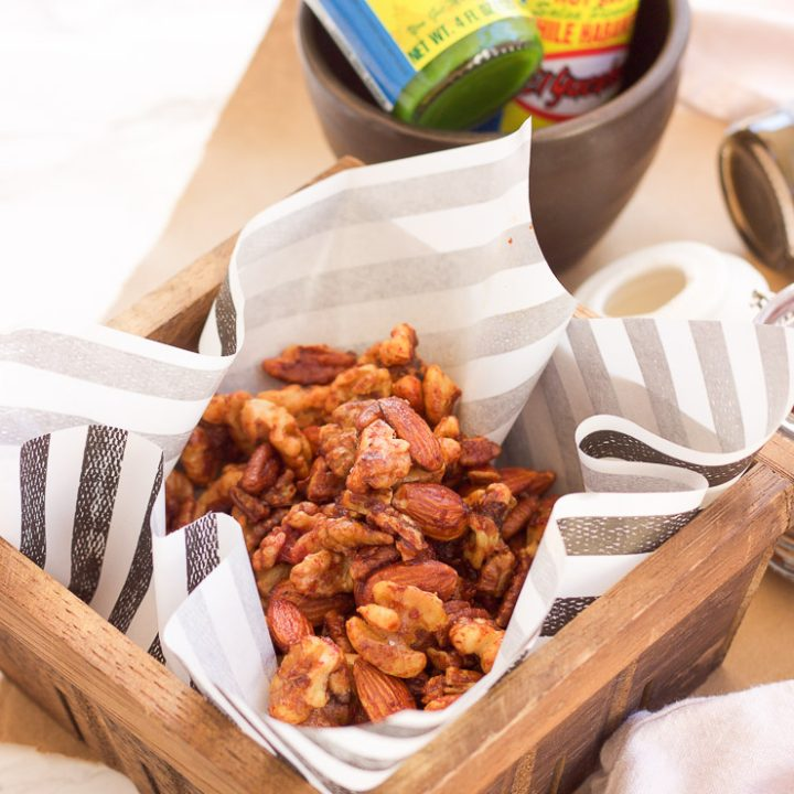 Sweet Habanero Roasted Nuts