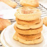 Georgia Peach Snickerdoodle Cookies - Gluten Free