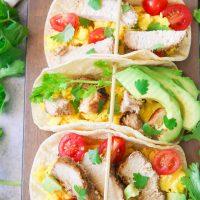 Fresh Pork Breakfast Tacos
