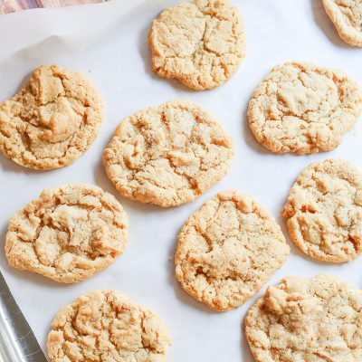 4-Ingredient Gluten Free Peanut Butter Cookies