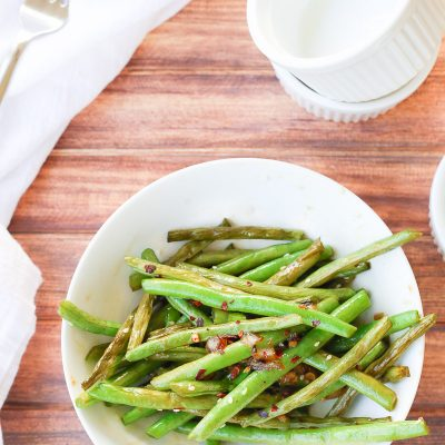 Quick Teriyaki Green Beans