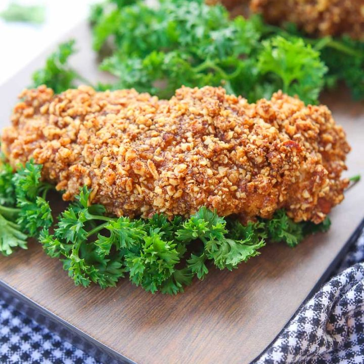 Almond Crusted Chicken Tenders