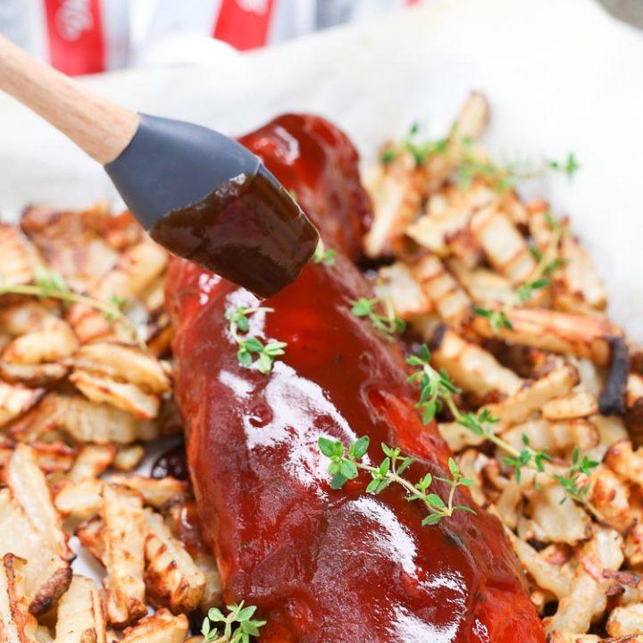 Easy BBQ Thyme Pork Roast