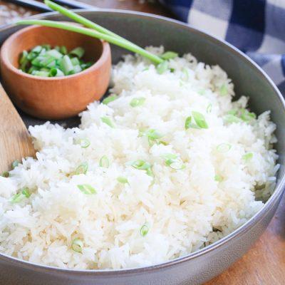 Instant Pot Jasmine Rice