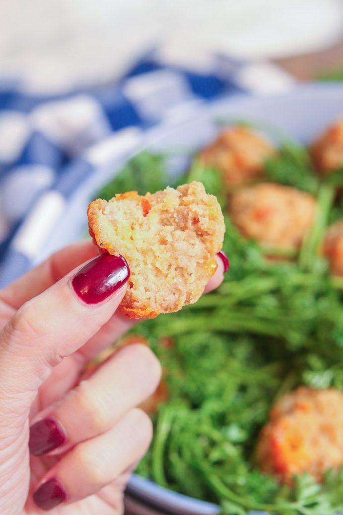 Gluten Free Cream Cheese Sausage Balls