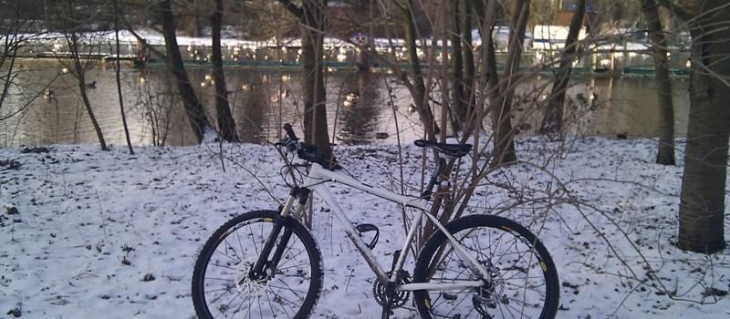 #biketowork bei -6°C