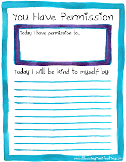 Self Care Sunday: Give Yourself Permission
