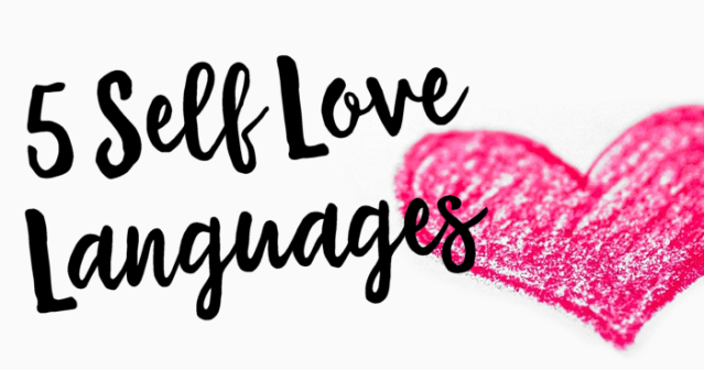 5 Self Love Languages