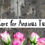 anxious tummy