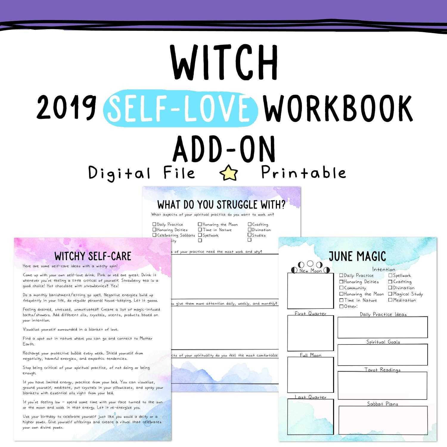 witch planner