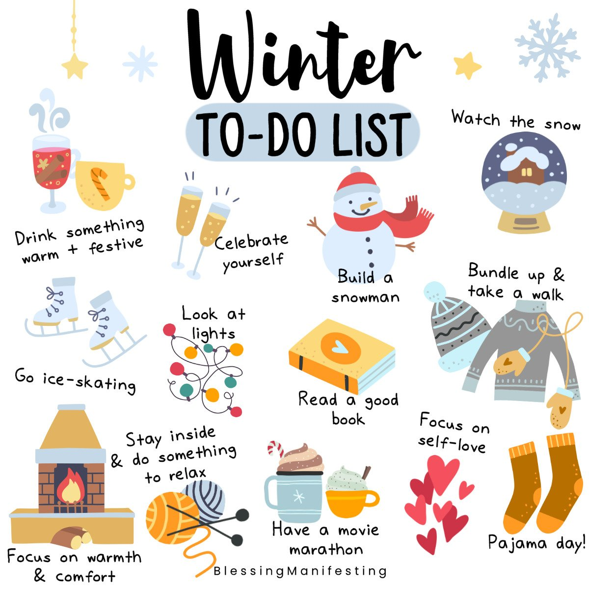 Winter To Do List Amp Free December Self Love Workbook Pages