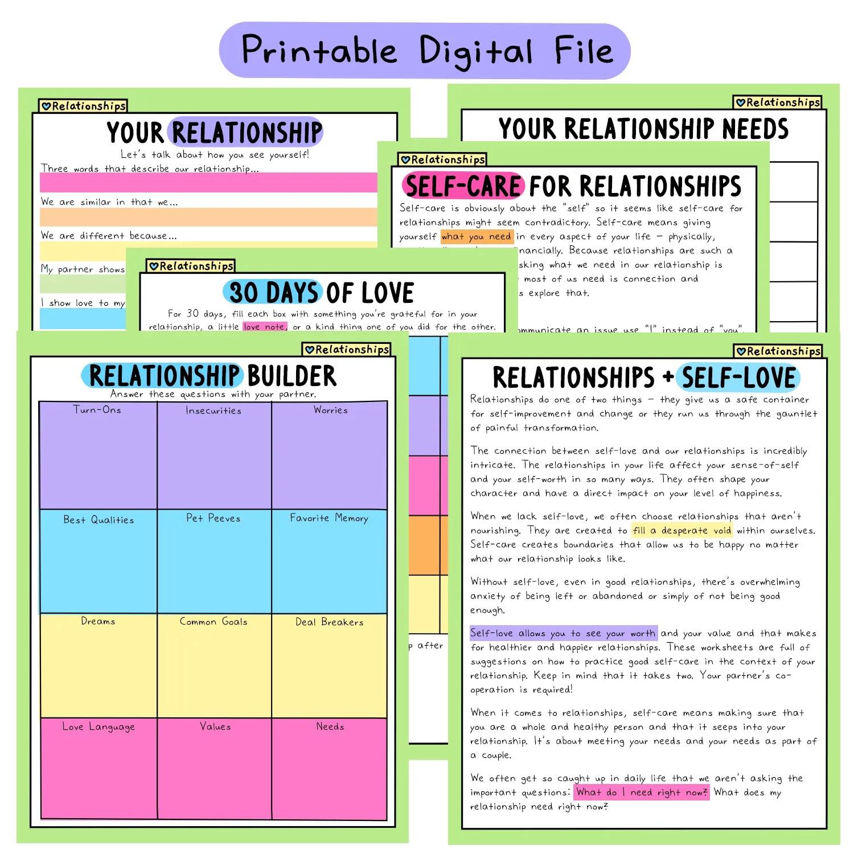 The Self Love Workbook Add Ons