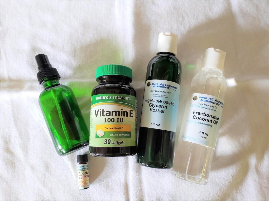silky skin spray