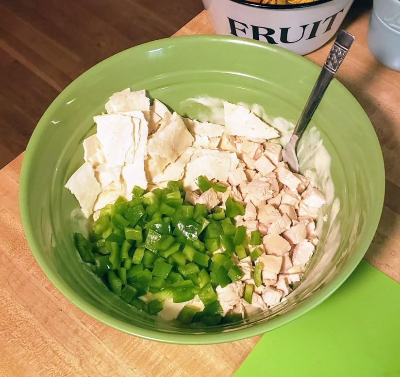 skinny chicken tortilla casserole