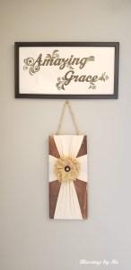 Farmhouse Style Amazing Grace Sign