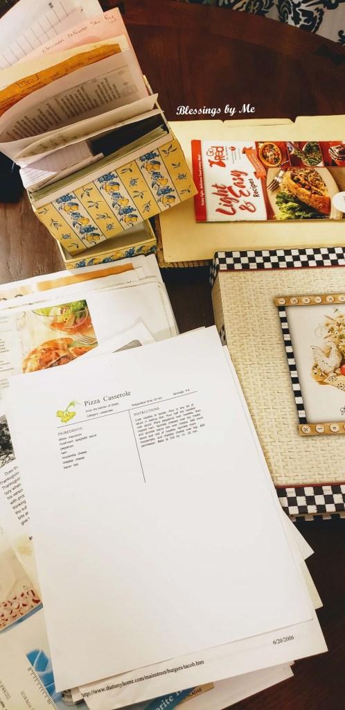 How to Organize a Recipe Binder