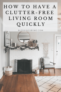 How to Have a Clutter-Free Living Room Quickly