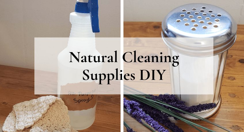 Natural Cleaning Supplies DIY