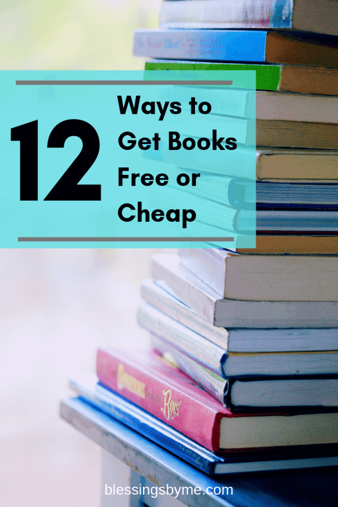12 Ways to Get Books Free or Cheap