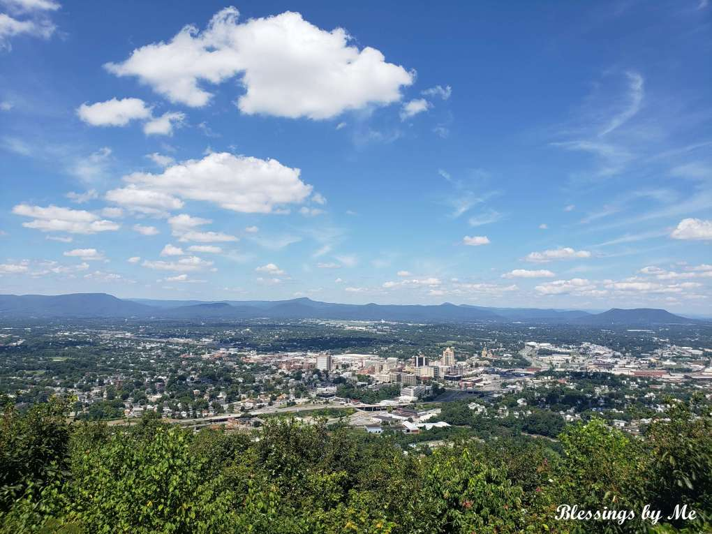 Overlooking Downtown Roanoke, VA