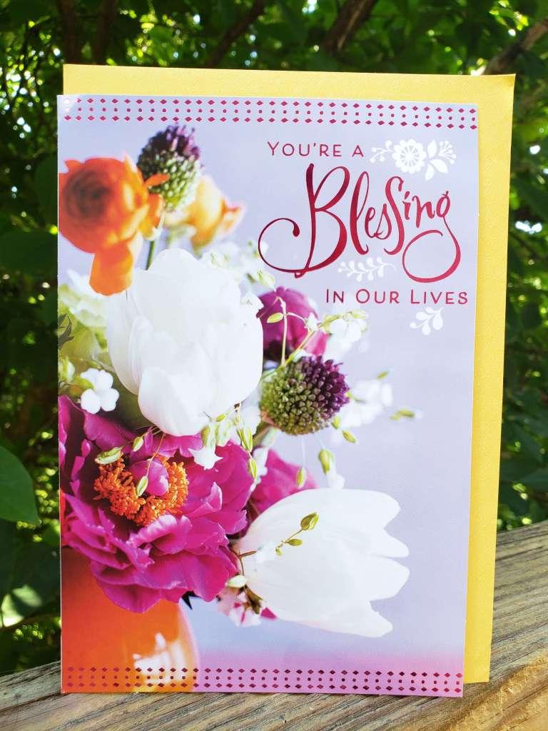 Birthday Card from Dollar Tree