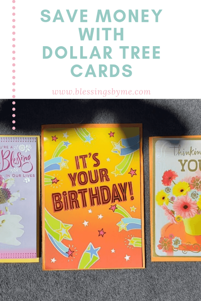 Save Money with Dollar Tree Cards