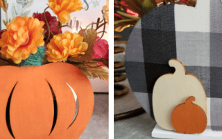 2-in-1 pumpkin decor