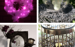 4 Inexpensive Halloween Decor