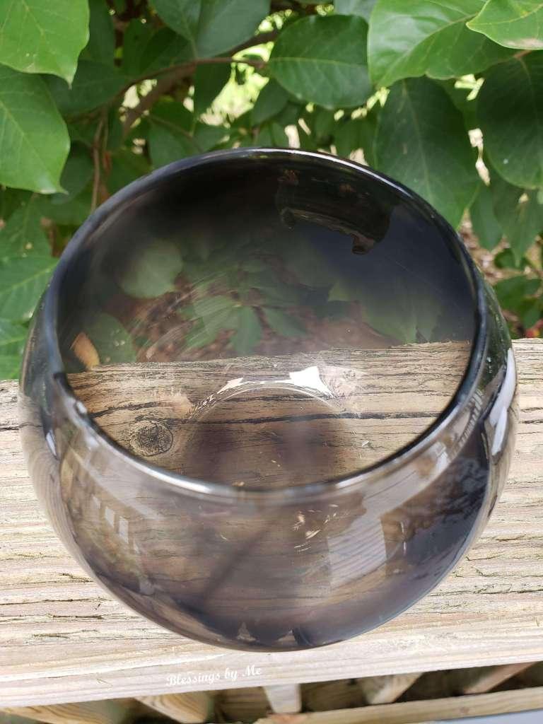 Smoked Glass Globe
